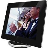 Rollei Pictureline 8200 Digitaler Bilderrahmen (20,3 cm (8 Zoll) TFT-LCD-Display, 800x600 Pixel, SD/SDHC/MMC/MS-Kartenslot, USB 2.0) schwarz