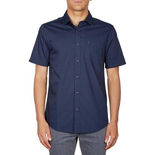 volcom-everett-solid-short-sleeve-shirt-medium-navy