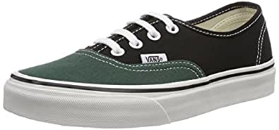 Vans U Authentic (Vintage 2-Tone, Baskets mode mixte adulte, Vert, 38