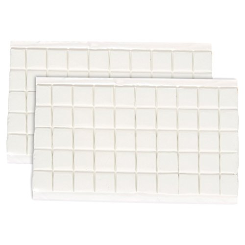 end Putty-wiederverwendbar Sticky Tack Putty-Ideal für- oder Aufhängen-quadratisch Registerkarten,-3x 5,9x 0,08Zoll ()