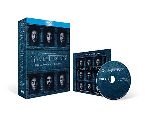 Game of Thrones - Season 6 with Bonus Disc (Exclusive to Amazon.co.uk) [Blu-ray] [Region Free]