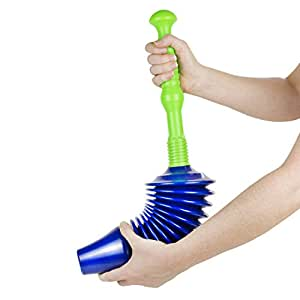 the worlds best toilet plunger big bad powerful clears all blockages due. Black Bedroom Furniture Sets. Home Design Ideas