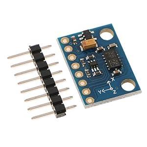LSM303DLHC Elektronischer Kompass-Kreisel-Beschleunigersensormodul IIC Mit 3 Achsen