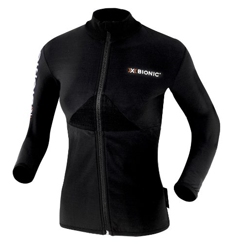 X-Bionic Erwachsene Funktionsbekleidung W Crosscountry Lady Beaver Jacket Full Zip, Black, M, O020313