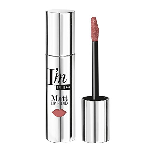 PUPA I'M Matt Lip Fluid n. 011 natural nude - rossetto mat / mat listick