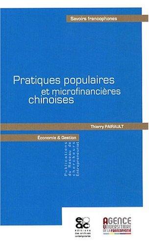 Pratiques Populaires et Microfinancieres Chinoises