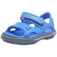 Crocs Boys Crocband Ii Ps Ocn/Smo Ankle Strap Sandals