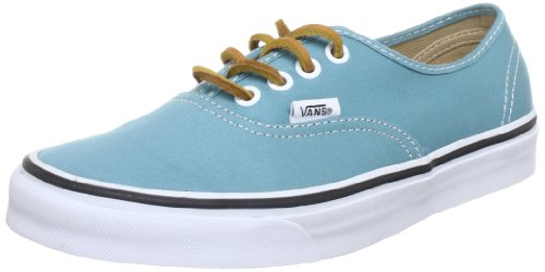 Vans U Authentic, Baskets mode mixte adulte Turquoise (Brushedtwill P)