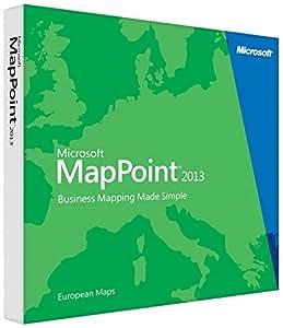 Microsoft MapPoint 2013 (DVD) - Europe - Langue française