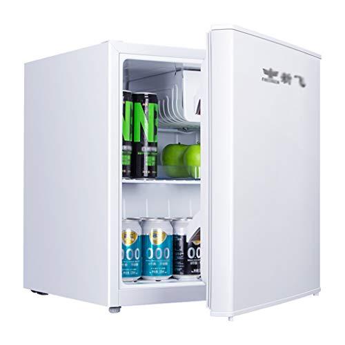 Unbekannt Eintüriger Kühlschrank, Mini-Gefrierschrank, 55 l, energieeffizientes Zuhause, gekühlt und gefroren, 37 dB Geräuschpegel, 0,34 kWh / 24 Std. Silber, für eine Person