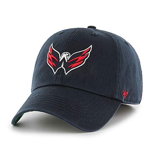 '47 Brand Washington Capitals Franchise Fitted NHL Cap Navy, L