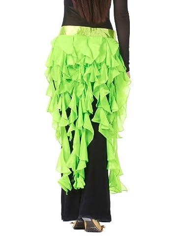Fox Costume De Danse - Dance Fairy fruit vert à neuf queues