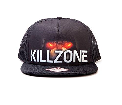 killzone-logo-ps4-xbox-nouveau-officiel-noir-snapback-trucker-cap