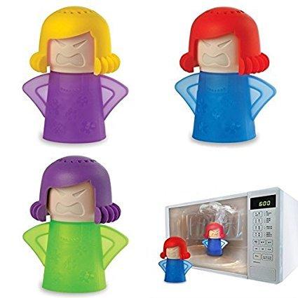 Limpiador de microondas Metro Angry Mama portátil acción rápida vapor cleaner-no productos químicos...
