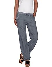 a7d03d1c37 Dresscode-Berlin DB Leichte Damen Leinen Sommerhose in schwarz, taupebraun,  blau, grau, weiß, beige, Khaki,…