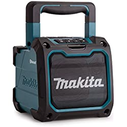Haut-parleur de chantier Makita DMR200Bluetooth sans fil - bleu/noir