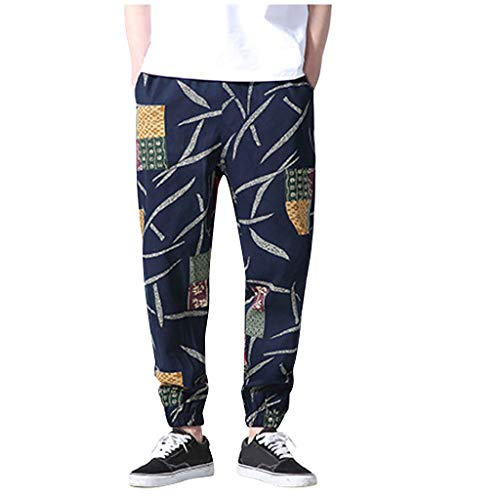 MCYs ❤ Herren Herbst New Chinese Style Pluderhosen Komfortable Beam Hose