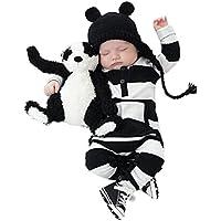 Bekleidung Longra Säugling Baby Jungen Mädchen Baumwolle Strampler Overall Bodysuit Kleidung Outfit Babykleidung (0 -24 Monate)