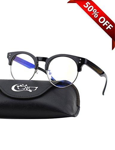 CGID-CT43-Gafas-Premium-con-Armazn-TR90-para-Proteccin-Contra-Luz-Azul-Anti-Fatiga-por-Deslumbramiento-Previene-Dolores-de-Cabeza-o-Fatiga-Visual-Gafas-Seguros-para-ComputadorasCelularesTabletas-Armaz