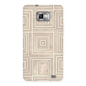 Neo World Square Pattern Back Case Cover for Samsung Galaxy S2