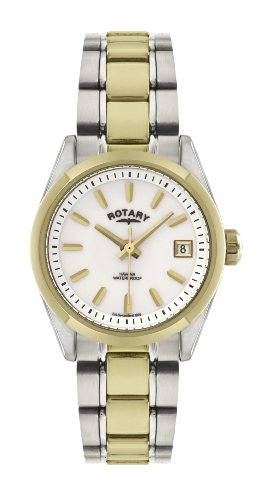 rotary-womens-quartz-watch-with-white-dial-analogue-display-and-multi-colour-stainless-steel-coating