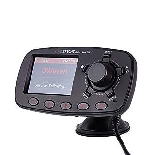 Albrecht Bluetooth Auto Dr 57 mit Digital Radio Empfänger Dab