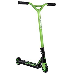 Masione™ Sports Pro Stunt Trick Push Scooter 360 Degree Fixed Bar for Kids Adult Children (Green)