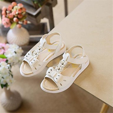 RTRY Donna Sneakers Comfort Pu Molla Canvas Informale Comfort Piatto Bianco US5 / EU35 / UK3 / CN34