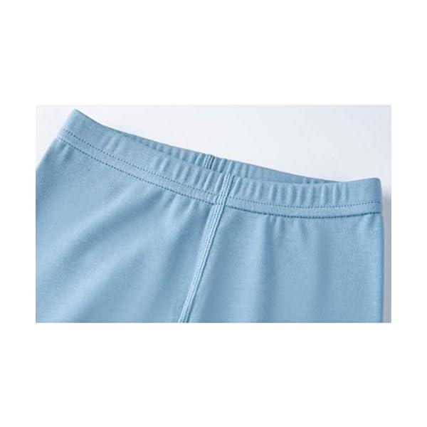 Pouybie 1 pc Pijamas para niños, Ropa Interior térmica sin Costuras y Ropa Interior térmica de Invierno para niños Top… 2