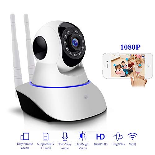 Camera 1080P IP Wireless Home Security IP Camera Surveillance Camera WiFi  Night Vision Baby Monitor CCTV Camera 1920 X 1080 720P with 32Gb Card