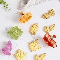 Vivianu Cortadores de fontanería para tartas, moldes para galletas, cortadores de galletas, 4