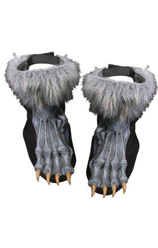 Graue Werwolf Füße (Kostüme Füße Werwolf)