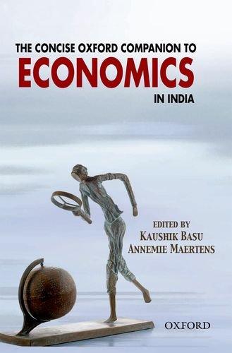 The Concise Oxford Companion to Economics in India