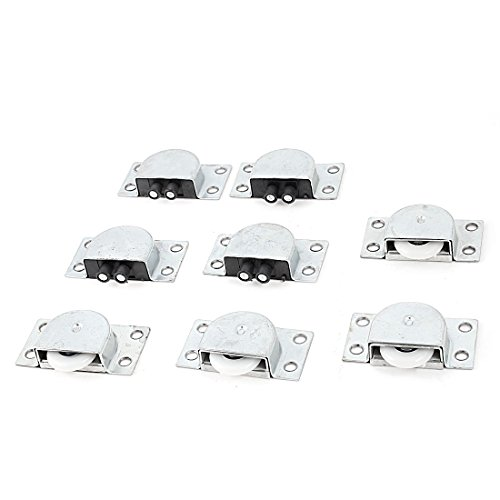 4-pairs-23mm-white-wheel-silver-tone-sliding-door-roller-for-wardrobe