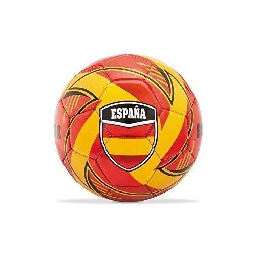 Lively Moments Fußball mit Länderflagge Spanien / Espana / Spain Ball / Spielball Rot - Gelb - Schwarz Gr. 5