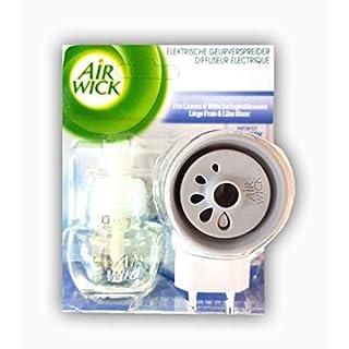 Airwick elektrischer Duftzerstäuber mit Nachfüller Leinen- und Flieder-Blumen-Duft 19 ml
