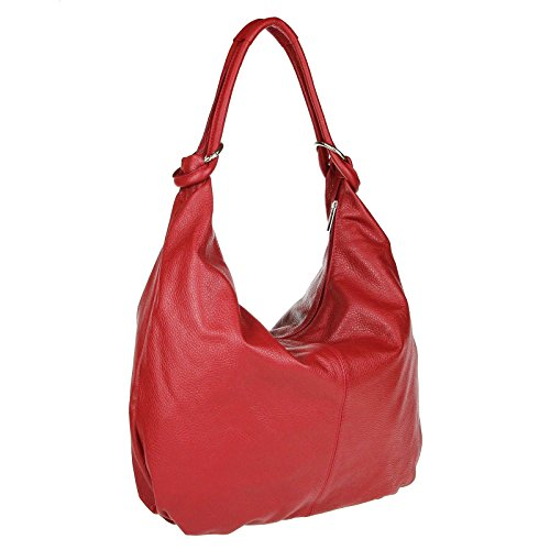 Made in Italy , Cabas pour femme rouge 47x35x16 cm (BxHxT) rouge