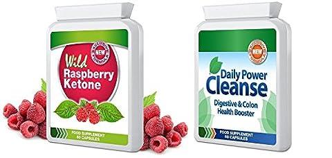 Wild Raspberry Ketone - WILD RASPBERRY KETONE & DAILY POWER
