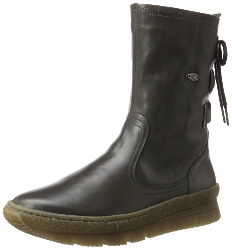 camel active Damen Authentic 73 Stiefel, Grau (Dk.Grey), 40 EU