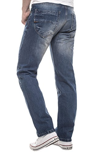 Rock Creek - Jeans - Jambe droite - Homme Bleu - Bleu