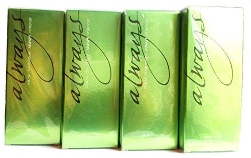 4 x Avon Always Eau de Parfum für Damen 50 ml (4 Stück)