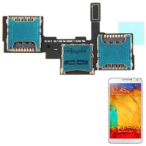 Kartensockel ersetzen Hochwertiges SIM-Karten-Socket-Flexkabel für Galaxy Note III / N9002 / N9009