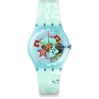Swatch Reloj Digital para Unisex de Cuarzo con Correa en Silicona GL121