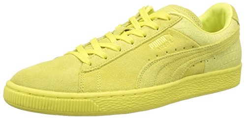 Puma 361372, scarpe da ginnastica unisex adulto, giallo (limelight), 42