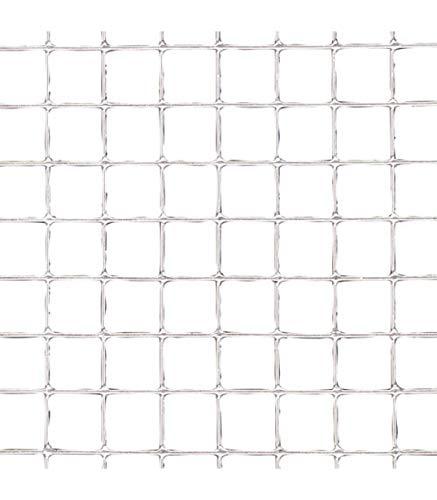 Papillon 1201210 - Maille electrosoldada galvanisée 6 x 6/80 cm, rouleau 25 mètres, utilisation pour la maison