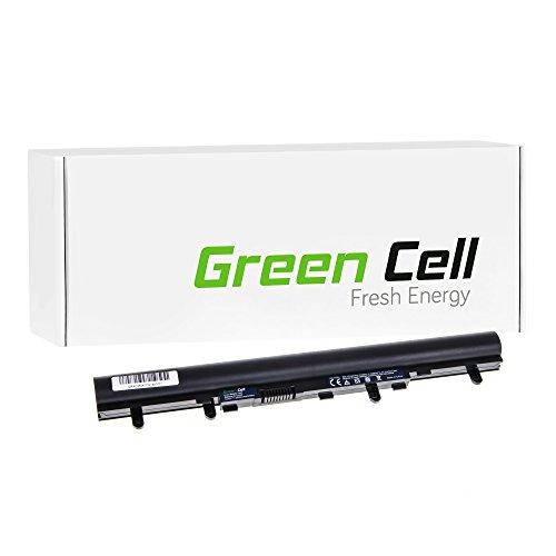 Green Cell® Standard Serie Akku für Notebook Acer Aspire E1–572G (4Batterien 2200mAh 14.4V schwarz)