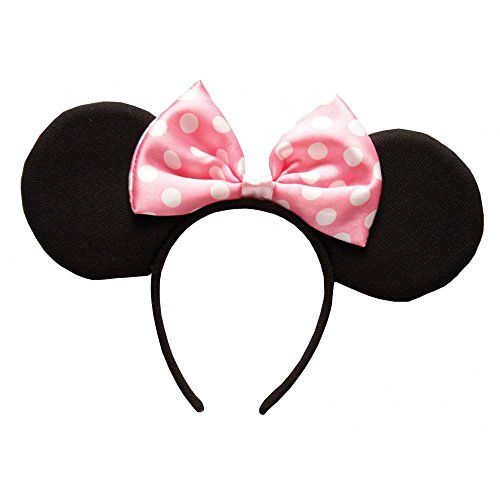 Rubie 's Offizieller Minnie Mouse, Pink Deluxe Ohren, -
