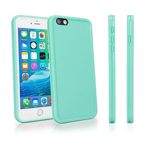 iPhone 6Cas, BoxWave® [aquasuit Étui imperméable] Housse en silicone pour Apple iPhone 6, 6S-Bleu Sarcelle