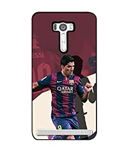 Crazymonk Premium Digital Printed Back Cover For Asus Zen Fone Selfie