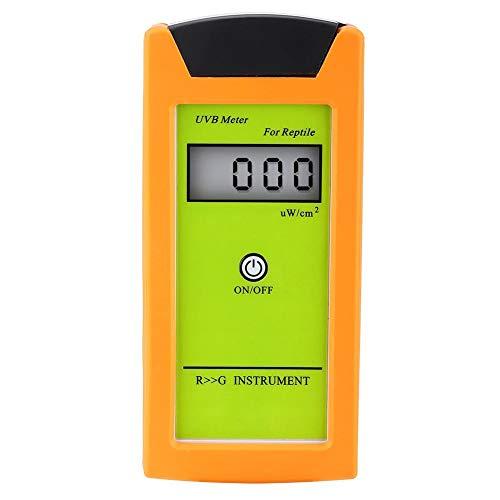 Medidor digital de UVB para mascotas Equipo de detección de UVB para mascotas Herramientas Medidor de intensidad de UVB portátil para reptiles para medir radiaciones de luz ultravioleta nocivas